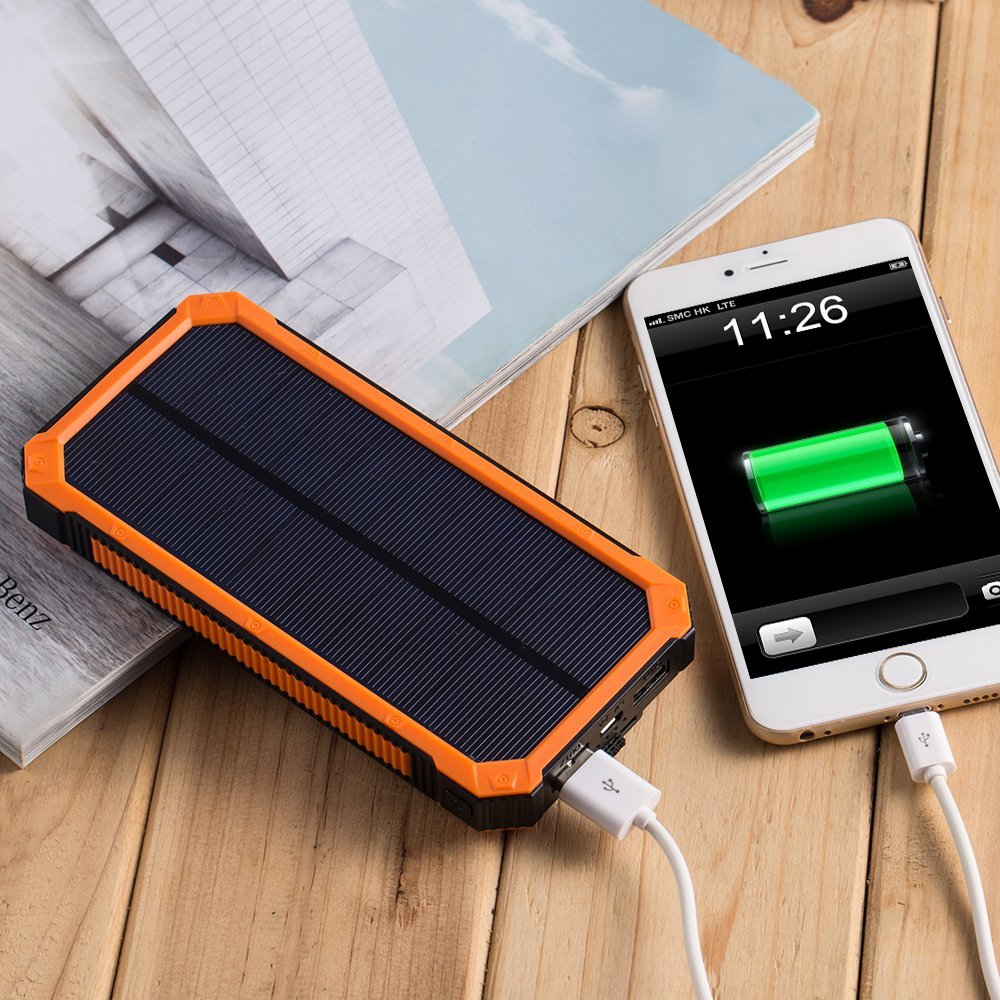 (WSI) SOLAR CHARGER 2X1